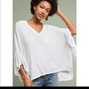 ANTHROPOLOGIE Oversized TOP